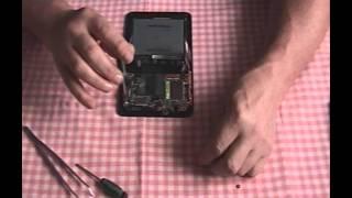 Oprava konektoru napájení ASUS 7
