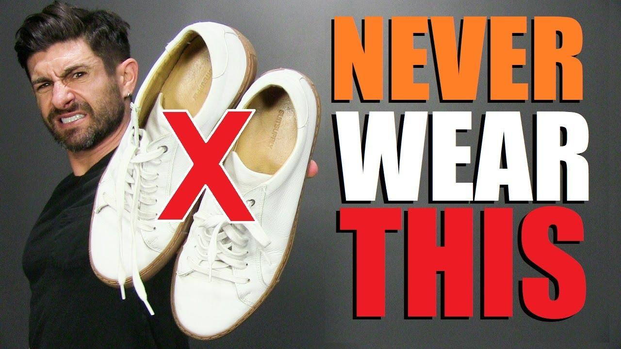 6 Sneakers Men Should NEVER Wear