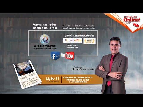 LIÇÃO 4 - A CONSTRUÇÃO do TEMPLO ENFRENTOU OPOSIÇÃO   FABIO SEGANTIN   EBD   CPAD from YouTube · Duration:  21 minutes 7 seconds