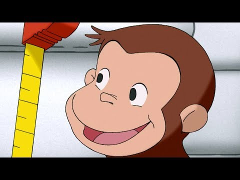 Curious George 🐵 George Measures Up 🐵Full Episode 🐵 Kids Movies | Cartoons for Kids