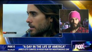 jared leto on a day in the life of america documentary project
