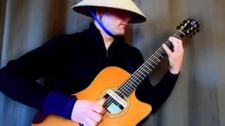 Очень красивая мелодия на гитаре