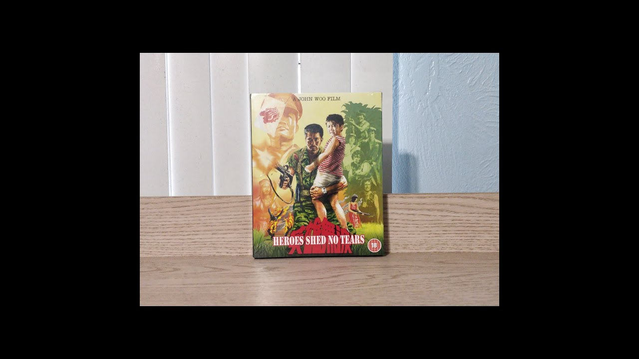Download Heroes Shed No Tears Blu-Ray Unboxing - 88 Films