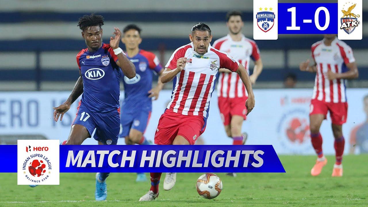 Bengaluru FC 1-0 ATK FC | Hero ISL 2019-20 Semi-Final 2 (1st Leg) Highlights