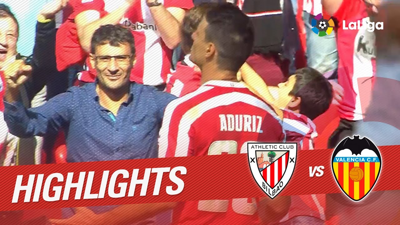 Resumen: Athletic – Valencia 18-9-2016