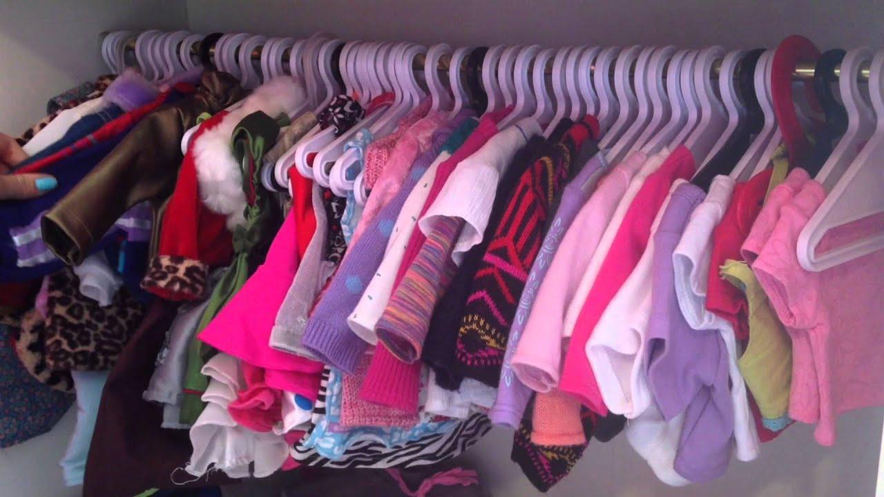 American Girl Doll Storage!