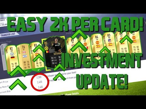 FIFA 18 LUNAR NEW YEAR INVESTMENTS UPDATE! EASIEST PLAYERS TO SNIPE! FIFA 18 SNIPING FILTERS GUIDE