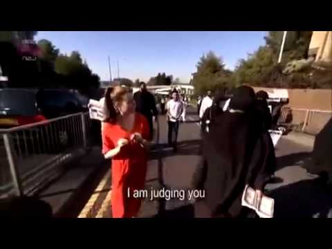 BRITISH WOMAN HARASSED BY MUSLIMS FOR WEARING REGULAR CLOTHES