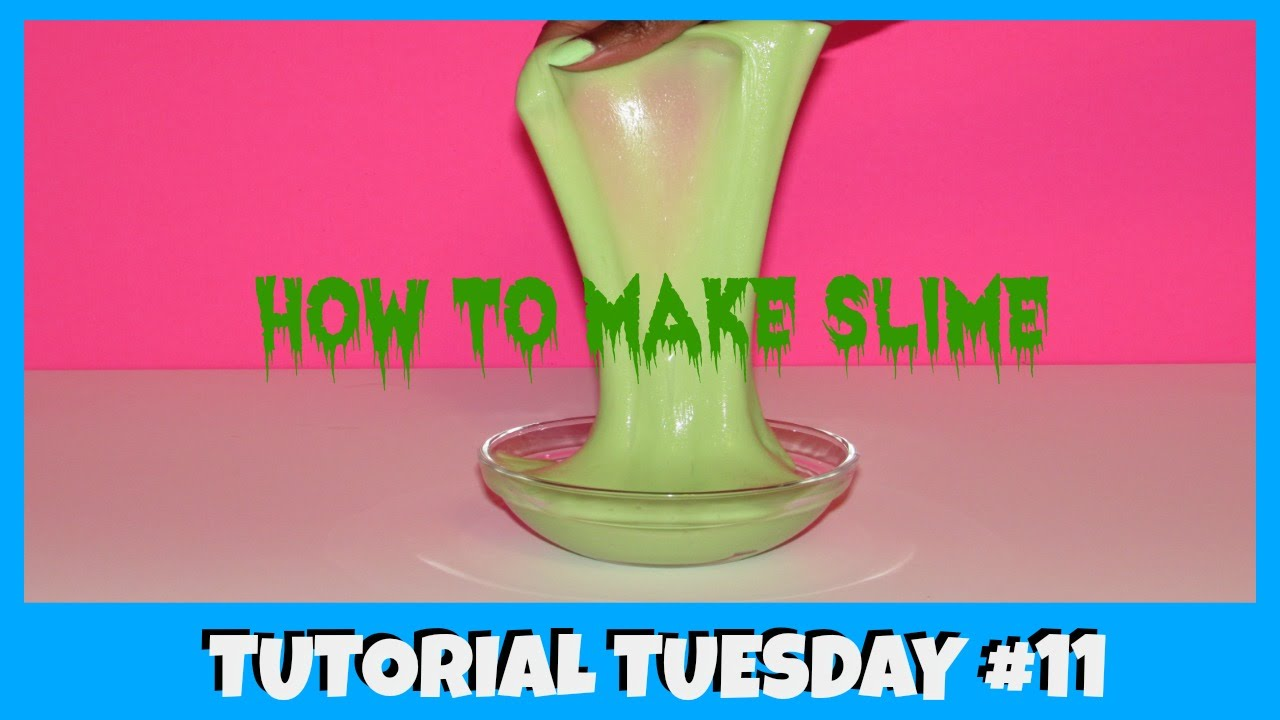HOW TO MAKE SLIME WITHOUT BORAX or LIQUID STARCH ...