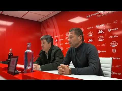 Presentación de Curro Torres como nuevo entrenador del Lugo