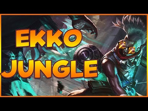 Maxske's Ekko | EKKO JUNGLE MAX KILLS CHALLENGE ?