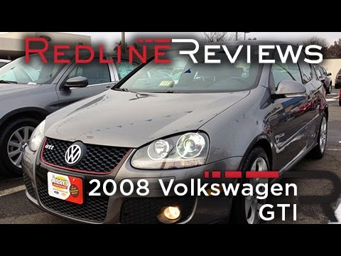 2008 Volkswagen GTI Review, Walkaround, Exhaust, Test Drive