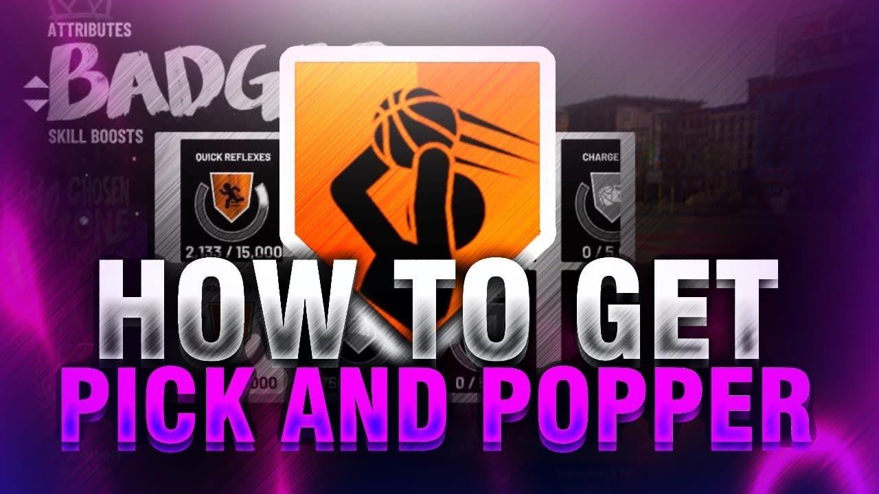 Pick & Popper Badge | NBA 2KW | NBA 2K20 News | NBA 2K20 Tips | NBA