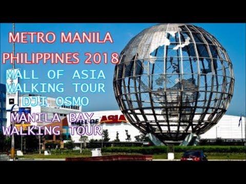 Metro Manila Philippines 2018 Timelapse + Hyperlapse  - Manila Bay Walking Tour