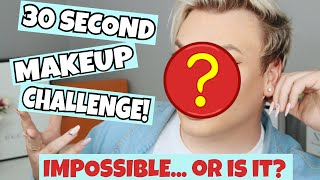 THE 30 SECOND MAKEUP CHALLENGE - HOW?!   Michael Finch