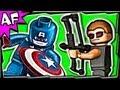 HAWKEYE SUPERHERO FAIL - Is he really a super hero? Lego Super Heroes Brick Film