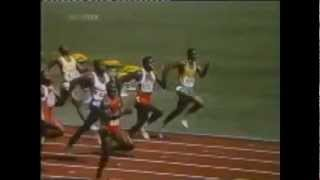 1988 Olympic 100 Meter Final  - The Greatest Race in History: Ben Johnson 9.79