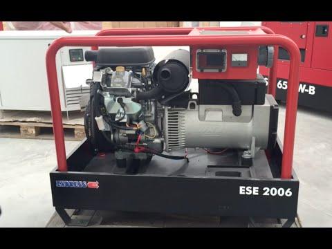 Generadores de Gasolina de 20 kW Endress