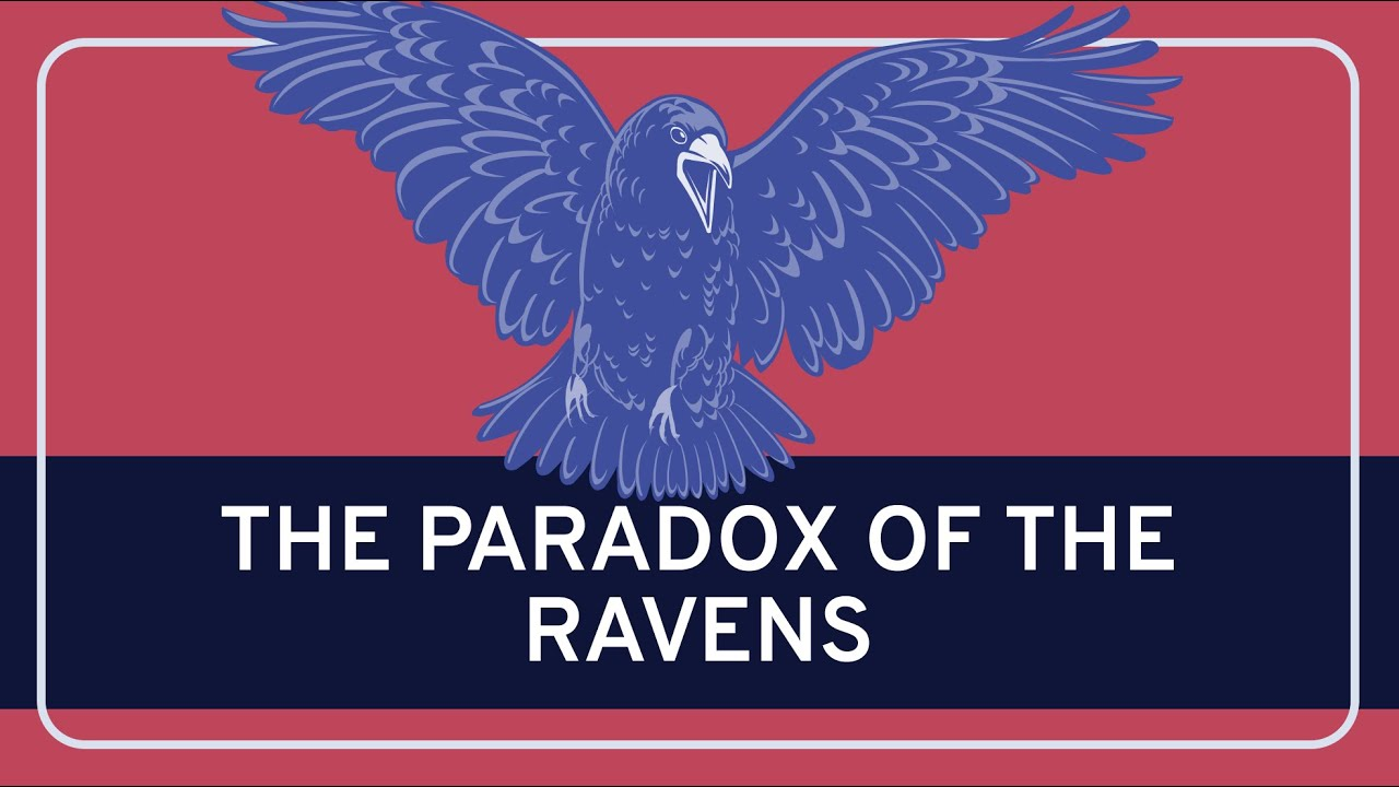Philosophy Epistemology The Paradox Of The Ravens Hd Youtube
