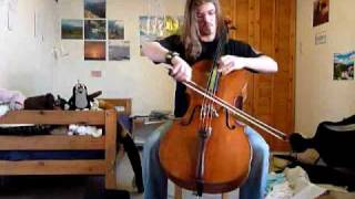 I'm Not Jesus - Apocalyptica cover - Instrumental version with cello solo