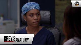 Amelia Tells Maggie About The Tumor - Grey's Anatomy