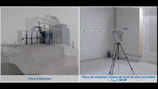 L'isolation acoustique d´une volée d'escalier non isolée