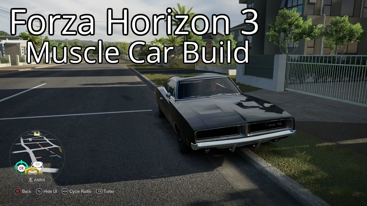 Forza Horizon Muscle Car Build Youtube