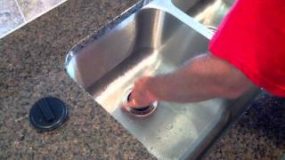 How to un-jam a sink disposal
