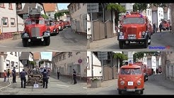 [30 Feuerwehr Oldtimer] Oldtimerumzug in Insheim