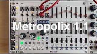 Metropolix - version 1.1 New Features
