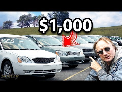 If You Only Have $1,000, These Are The Cheap Cars You Should Buy