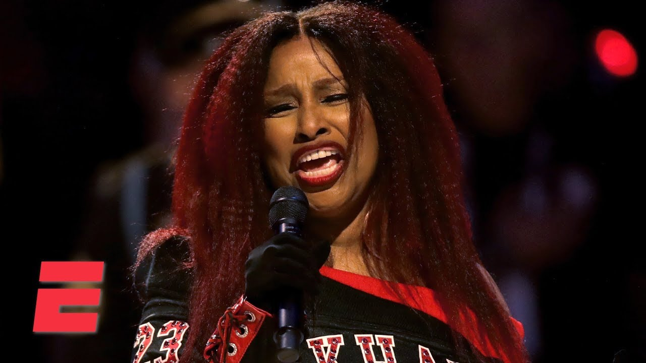 Chaka Khan Singing National Anthem Sparks #ChakaKahn't !?
