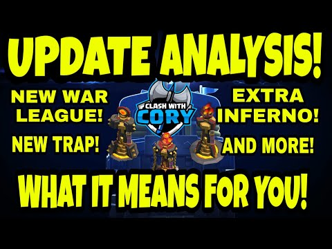 UPDATE ANALYSIS! HOW THE NEW UPDATE AFFECTS YOU! CLASH OF CLANS, OCTOBER 2018