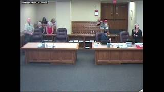 Courtroom video shows deputy