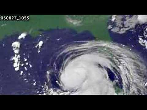Hurricane KATRINA from satellite