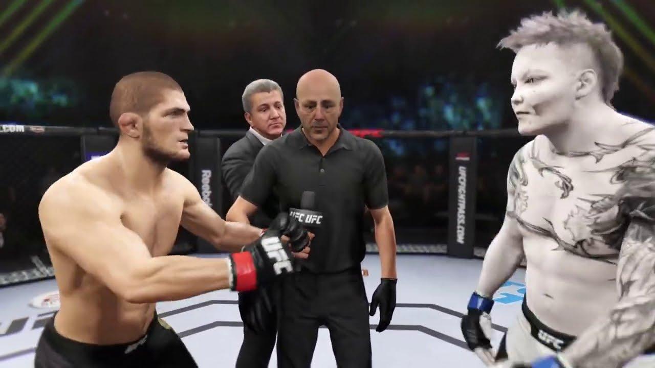 Khabib vs. Horseman - EA Sports UFC 2 - Champion Fight