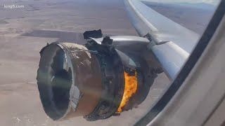 'Very rare': Aviation expert John Nance describes engine failure on Boeing 777-200 near Denver