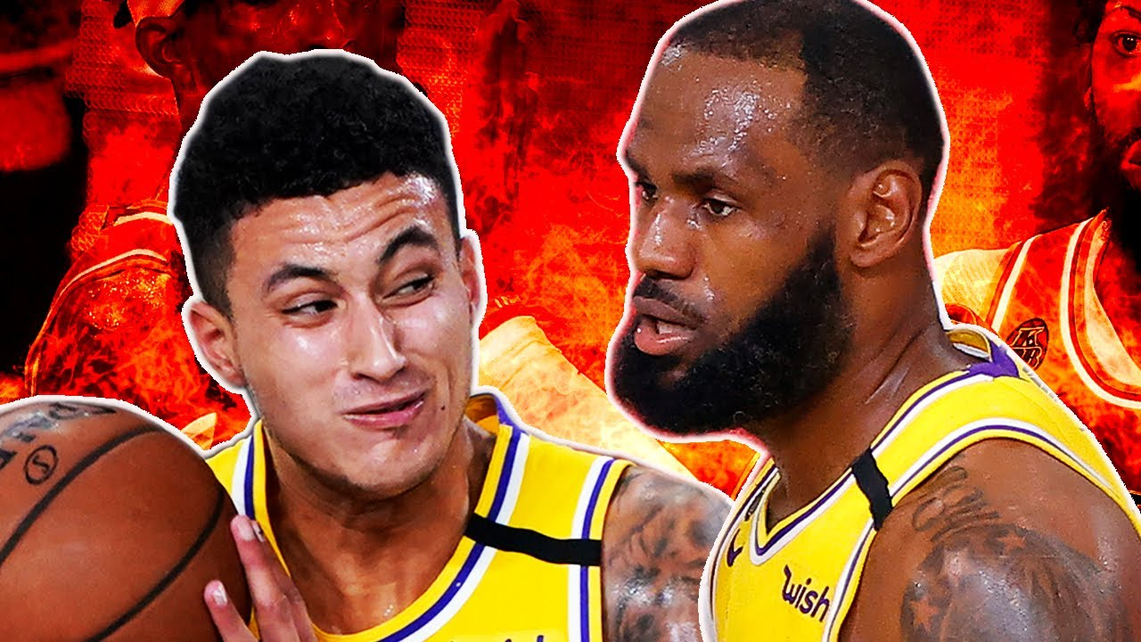 NBA fans are roasting Kyle Kuzma over his terrible Game 6