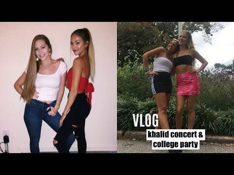 8/12-8/25 Vlog: Khalid Concert & TCNJ Party