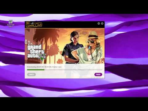 FIX! Speed up GTA V Download Speed! - Rockstar Downloader