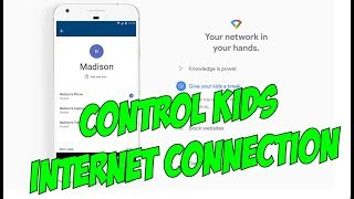 How to Control Kids WiFi internet Connection on Google WiFi Router