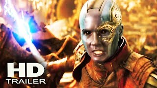 AVENGERS: INFINITY WAR - Big Game Spot Trailer 2018 (Karen Gillan, Dave Bautista) Superhero Movie
