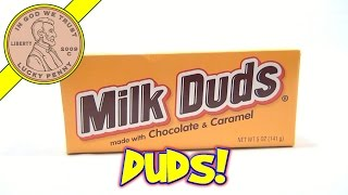 Milk Duds Chocolate & Caramel, Hersheys  - USA Candy Tasting