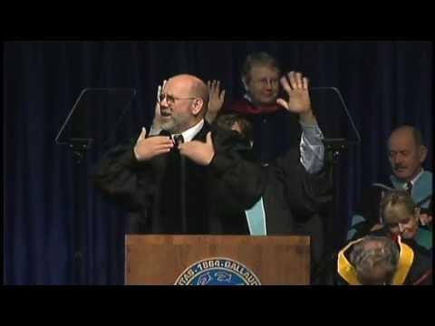 Gallaudet University Commencement Speaker: Gary Malkowski - 2011