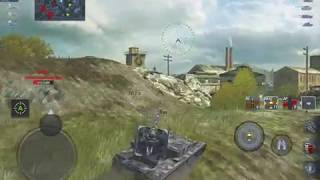 World of Tanks Blitz - Grille 15: sniping reds for 6k damage