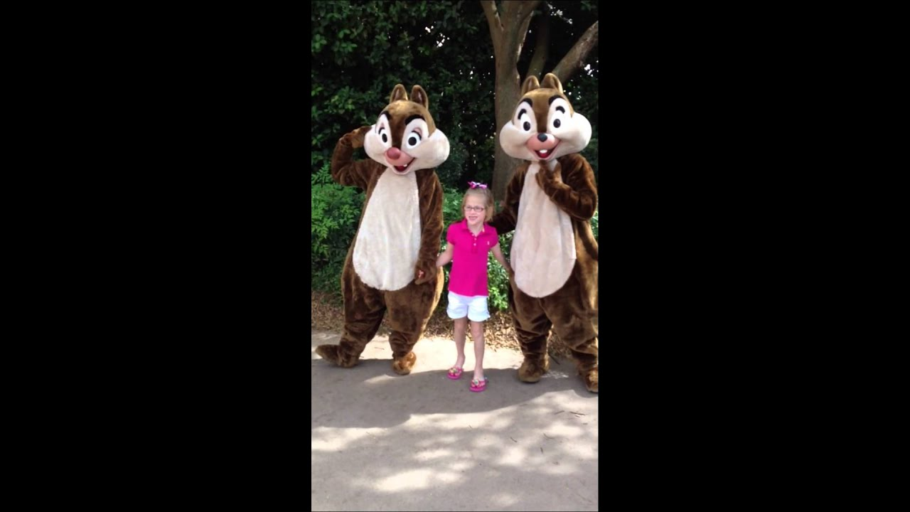 vika chip and dale halloween 2012