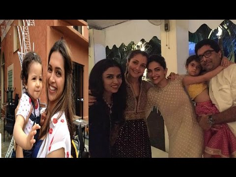 Actress Deepika Padukone Family Video Deepika Padukone With Family
