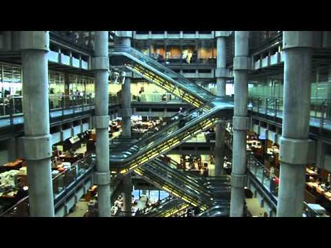Take A Walk Around the Lloyd's Underwriting Room