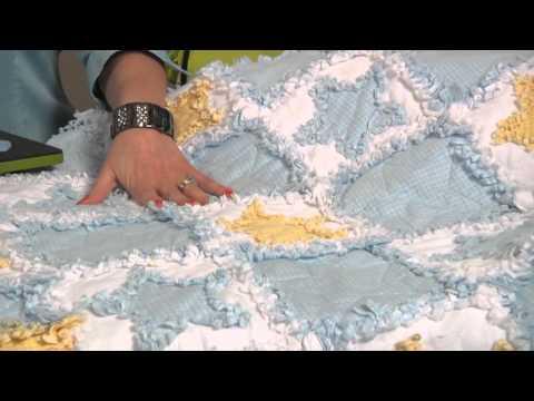 AccuQuilt GO! Rag Flower & Circle and Rag Heart & Star - YouTube : accuquilt rag quilt - Adamdwight.com