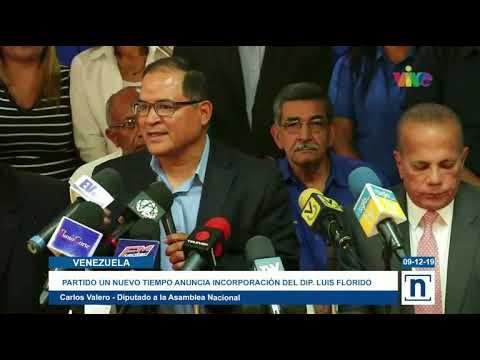 partido-político-un-nuevo-tiempo-anunció-incorporación-del-diputado-luis-florido-a-la-tolda-azul